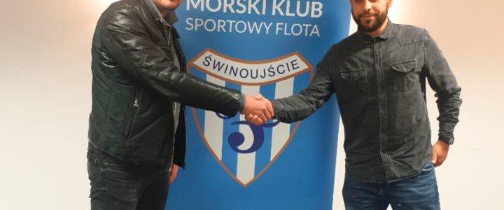 Świnoujście. MKS Flota. Łukasz Borger trenerem pierwszego zespołu.