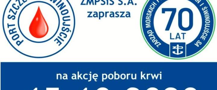 Krwiobus w Porcie Szczecin - Świnoujście.