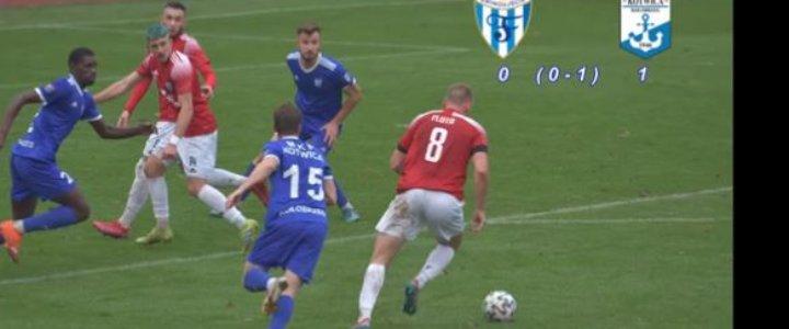 Świnoujście. Nie udało się zerwać z Kotwicy. Flota - Kotwica Kołobrzeg 0-1 (0-0).