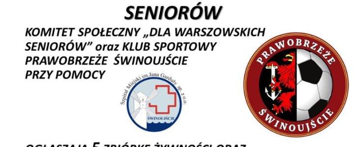 Świnoujście. Piąta zbiórka dla seniorów na Warszowie.