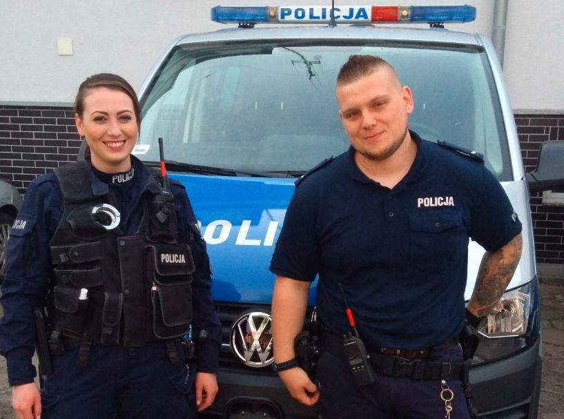 POLICJANCI Z KOMENDY MIEJSKIEJ POLICJI W ŚWINOUJŚCIU URATOWALI ŻYCIE KRWAWIĄCEMU MĘŻCZYŹNIE
