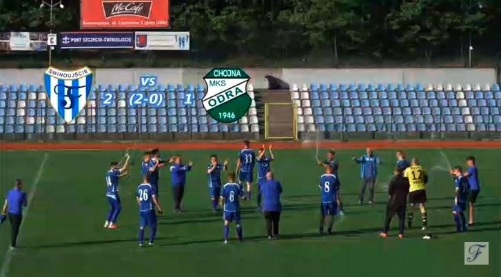 Świnoujście. Skromne zwycięstwo na pożegnanie z publicznością  Flota – Odra Chojna 2-1 (2-0)