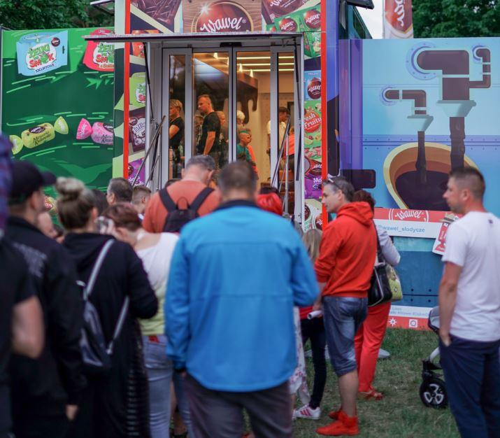 Słodki Wawel Truck podbił serca mieszkańców Świnoujścia