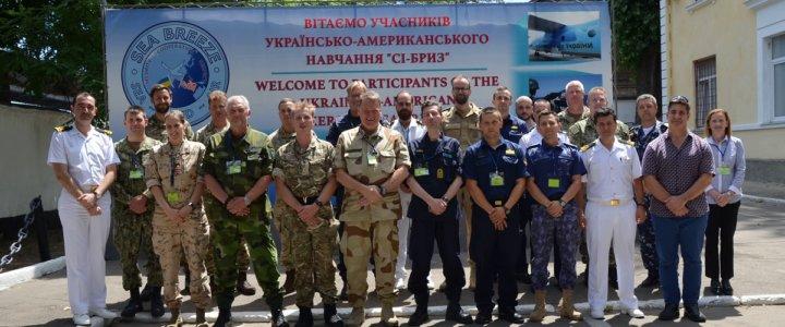 """Międzynarodowe ćwiczenie pk. """"Sea Breeze 2019"""" na Ukrainie."""
