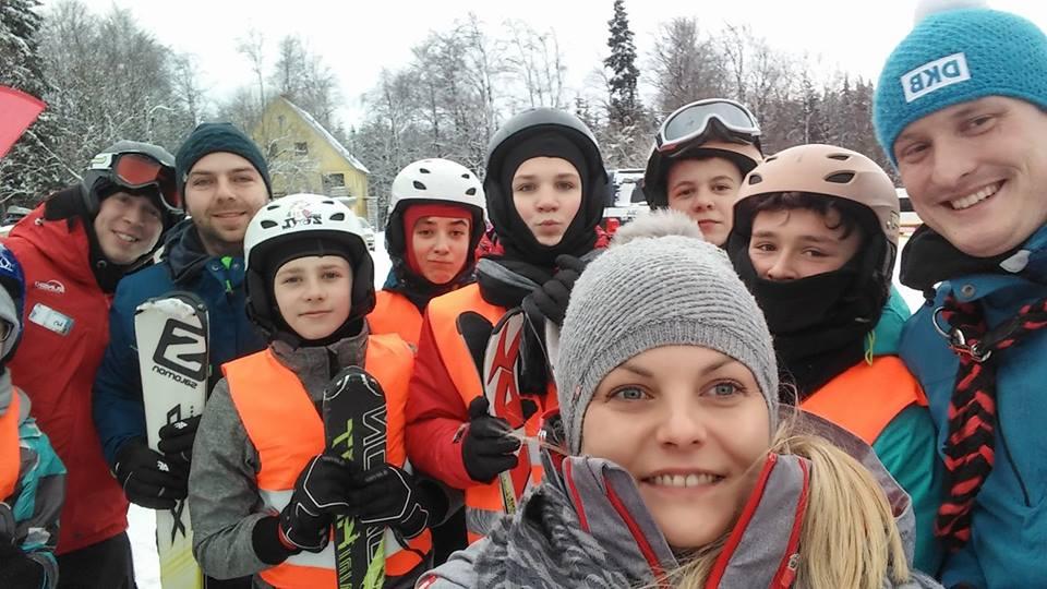 Sportowcy z SP 1 w Świnoujściu na zimowisku