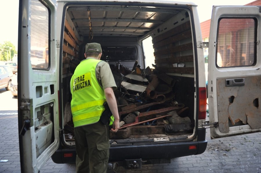 Dwie tony odpadów zatrzymane w Świnoujściu