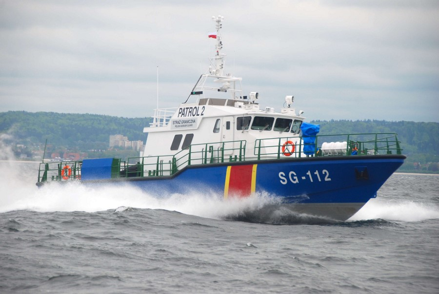Jednostki Straży Granicznej w akcjach na Bałtyku