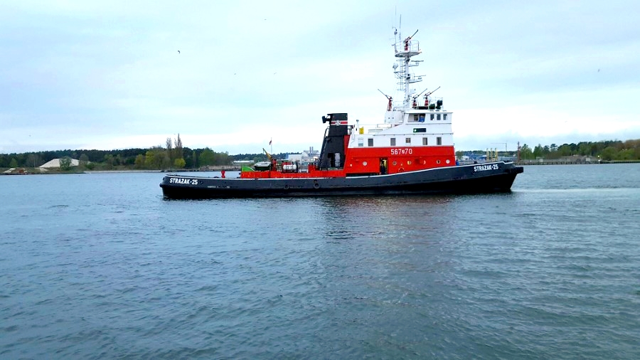 """Inicjatywa Grupy Morskiej w sprawie  """"Strażaka 25"""""""
