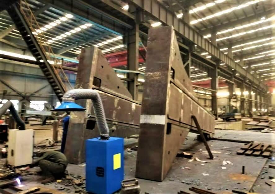 Świnoujście. Maszyna, która wywierci tunel. W Chinach zaczęli budowę TMB.