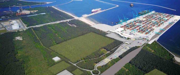 Głębokowodny Terminal Kontenerowy w Świnoujściu przyciąga uwagę świata.