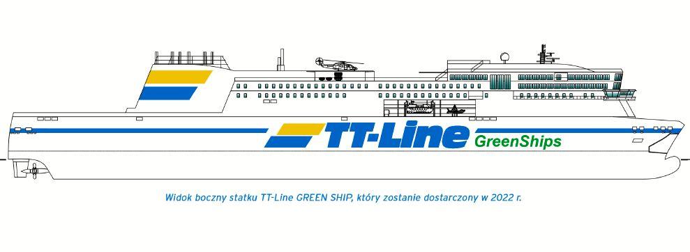 """TT-Line podpisało kontrakt na budowę """"GREEN SHIP"""""""