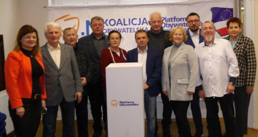 Świnoujska Platforma Obywatelska wybierała szefa partii.