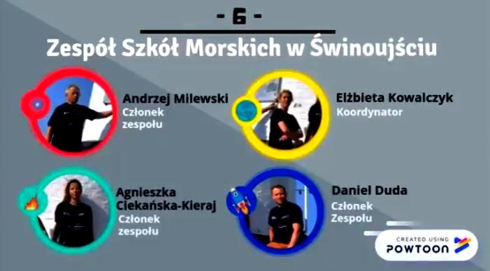 Zespół Szkół Morskich w Świnoujściu – Powergedon 2018