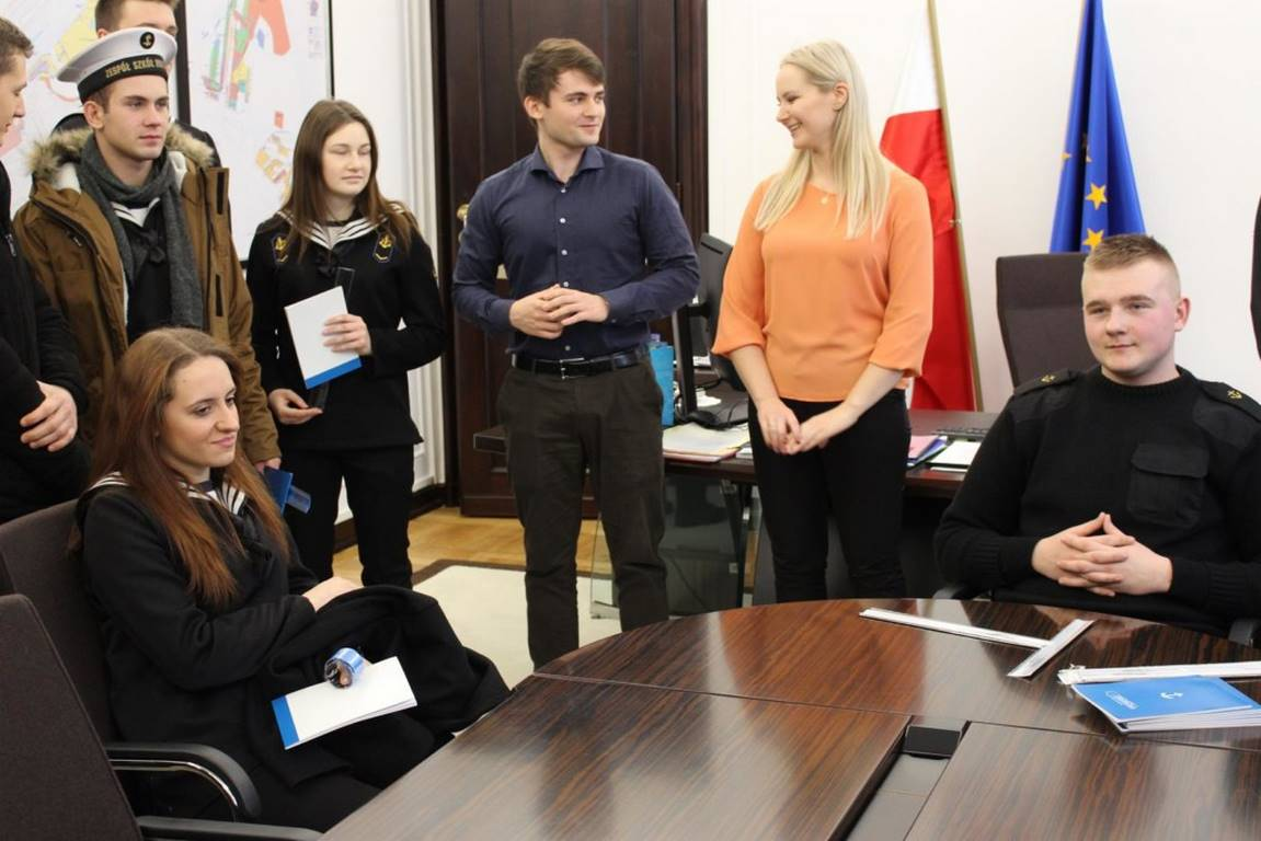 Wizyta w Sejmie uczniów ZSM w Świnoujściu