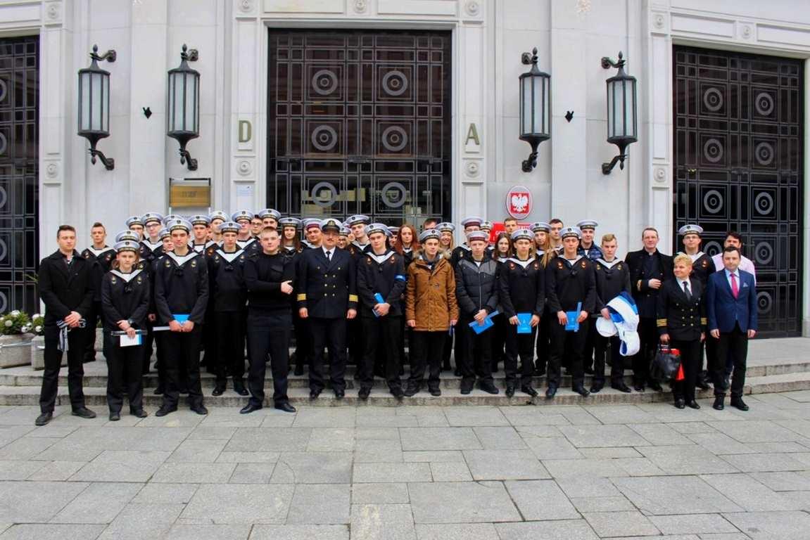 Uczniowie ZSM w Świnoujściu z wizytą w Sejmie