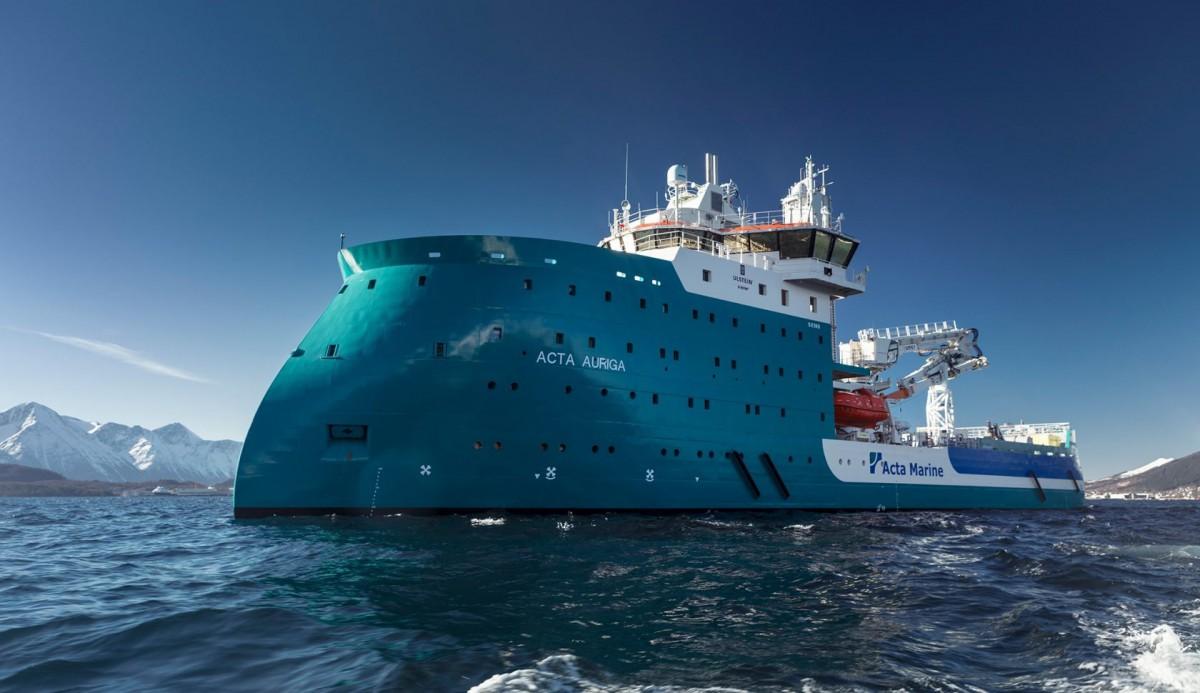 Zaprojektowana dla morskiej energetyki wiatrowej Acta Auriga ze stoczni CRIST ma już oficjalną nazwę