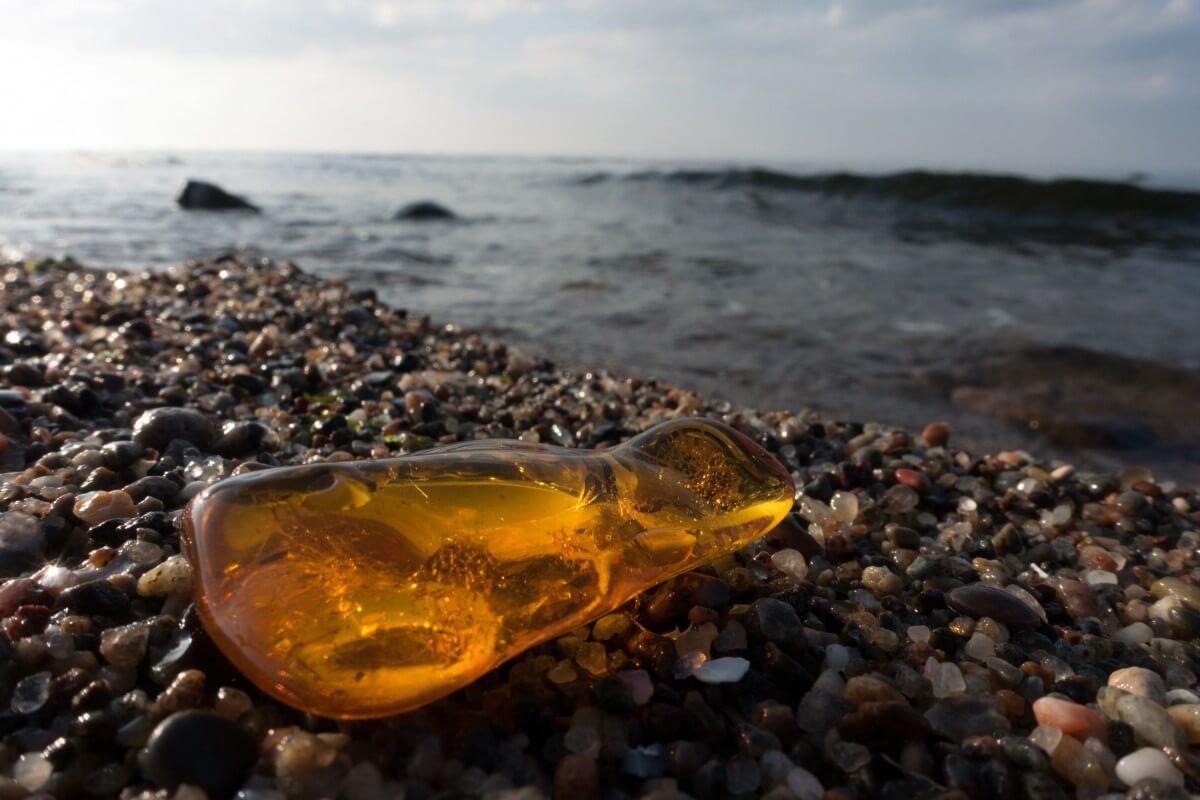 Urząd Morski w Gdyni przygotowuje dokumentację na ewentualne wydobycie bursztynu na Mierzei