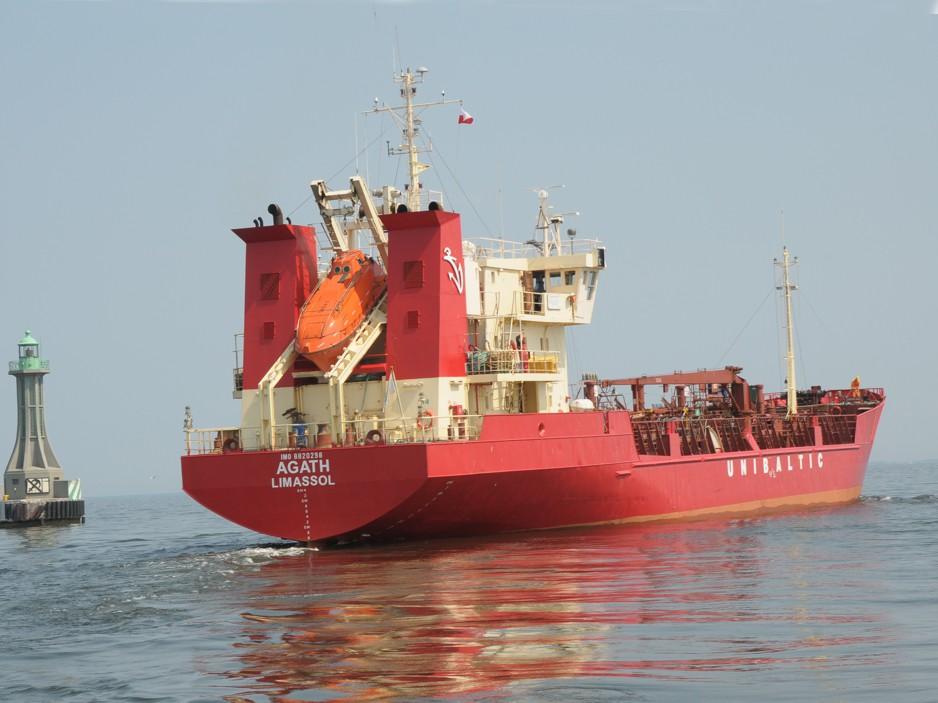 Załoga polskiego Agath wypompowała toksyczne chemikalia do Morza Północnego?