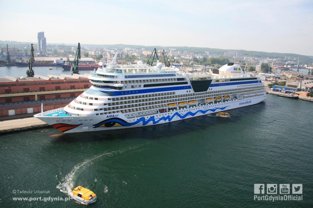 Już jutro rozpocznie się sezon wycieczkowców w Porcie Gdynia (wideo)