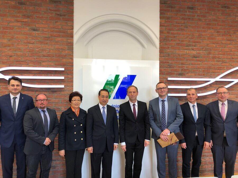 Zachodniopomorski Uniwersytet Technologiczny w Szczecinie gościł Ambasadora Chińskiej Republiki Ludowej.