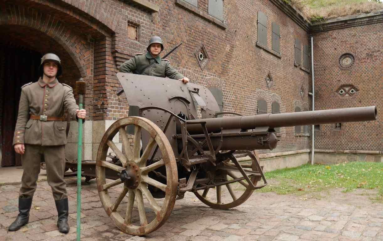 Armata 7,7 cm FK 16 – kolejny unikat w Świnoujściu