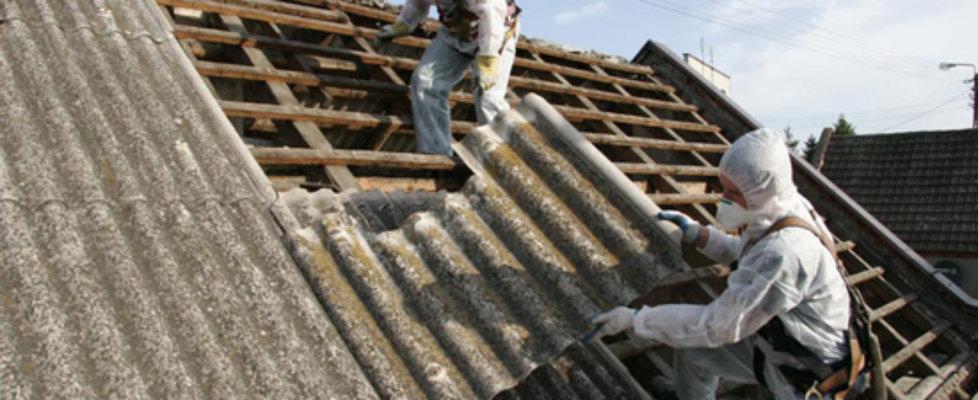 Można pozbyć się szkodliwego azbestu.