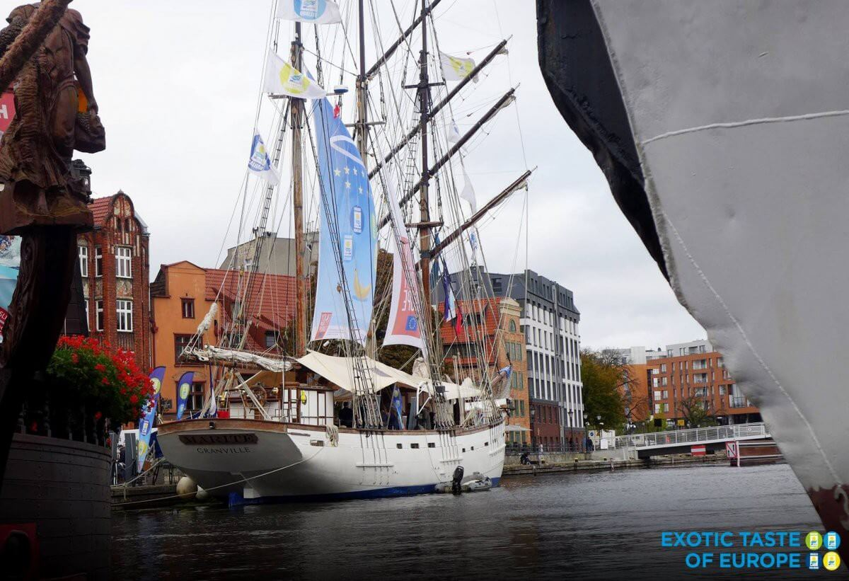 Francuski Le Marité do zwiedzenia w Gdyni