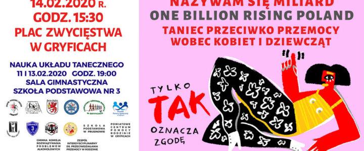 Gryfice. Nazywam Się Miliard. One Billion Rising Poland.