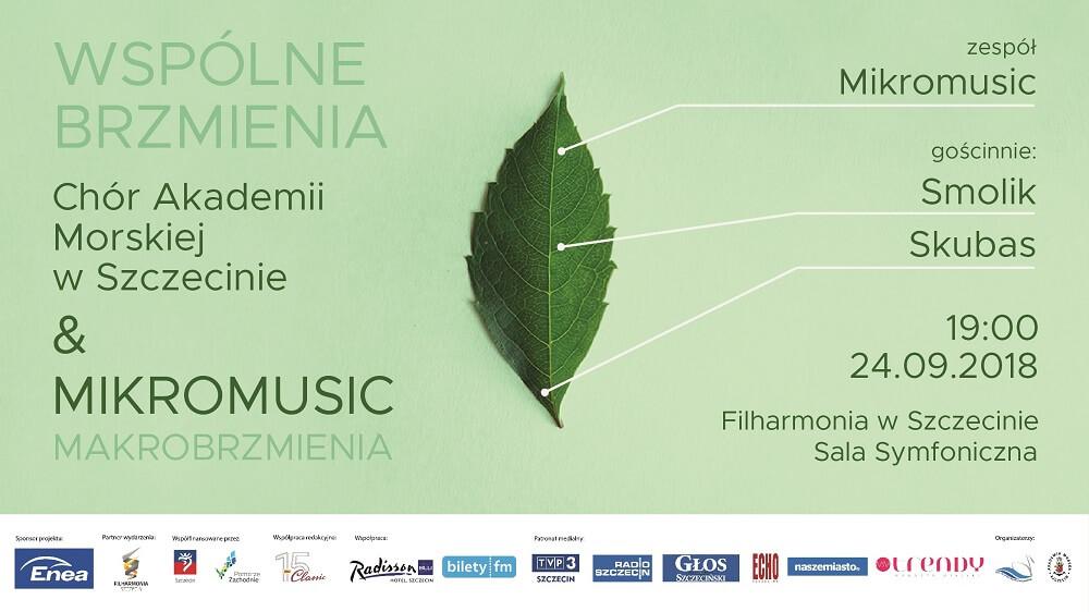 Wspólne Brzmienia – Makromusic – Chór Akademii Morskiej w Szczecinie