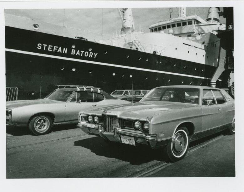 Historie podróży do Ameryki transatlantykiem Batory na wystawie