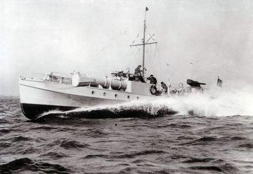 Schnellbooty w północnej Norwegii