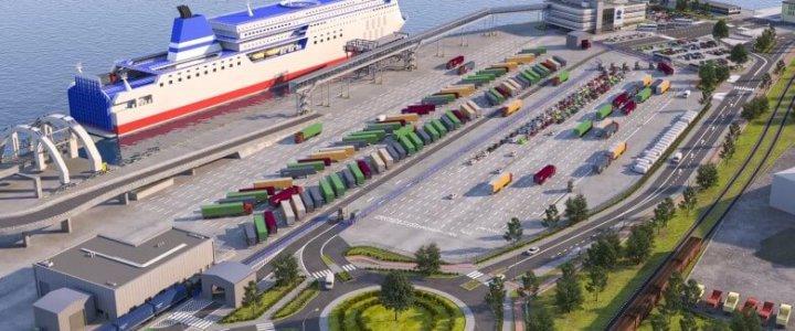 Tak będzie wyglądał nowy terminal promowy w Gdyni (foto, wideo).
