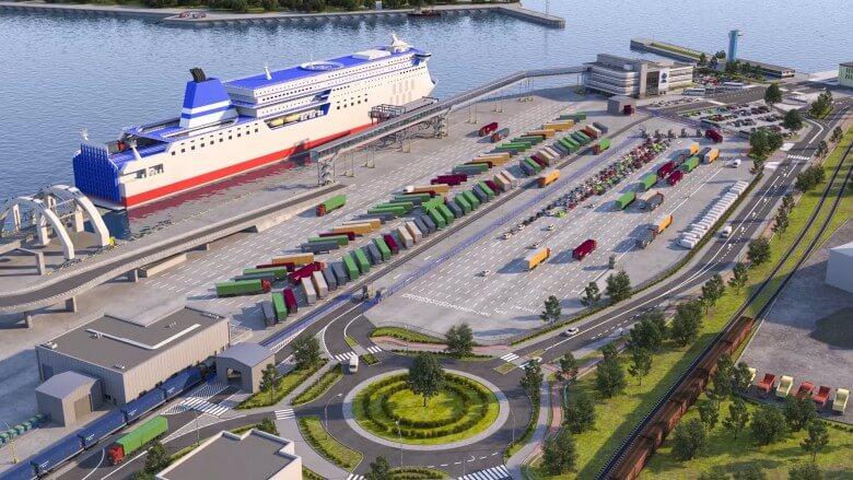 Tak będzie wyglądał nowy terminal promowy w Gdyni (foto, wideo)