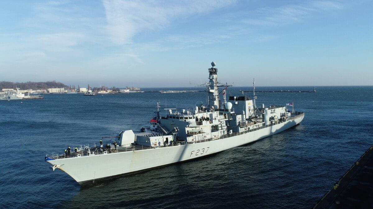 Okrętu z takim systemem rakietowym jeszcze w Polsce nie było. Weszliśmy na pokład HMS Westminster (foto, wideo)