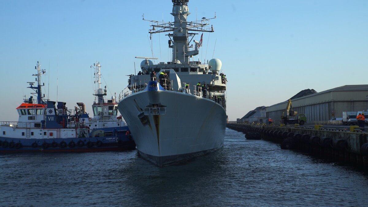 Okrętu z takim systemem rakietowym jeszcze w Polsce nie było. Weszliśmy na pokład HMS Westminster
