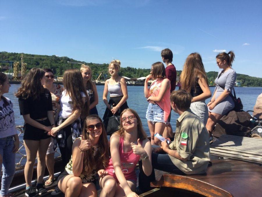 Szczecińska młodzież poznała smak żeglowania