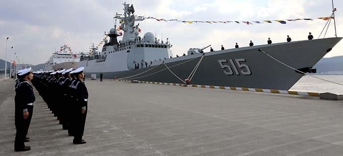 Stań na pokładzie chińskiej fregaty rakietowej