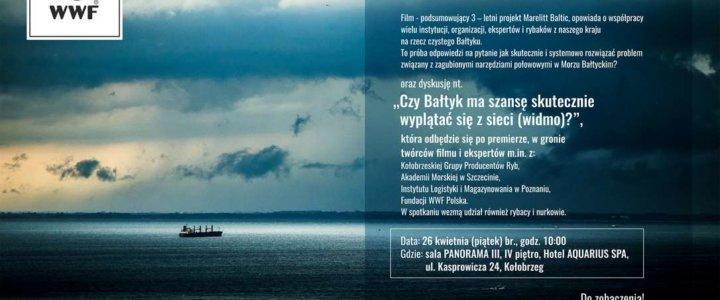 """Premiera filmu """"Widmo Bałtyku"""" w Kołobrzegu."""