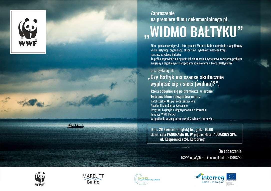 """Premiera filmu """"Widmo Bałtyku"""" w Kołobrzegu"""