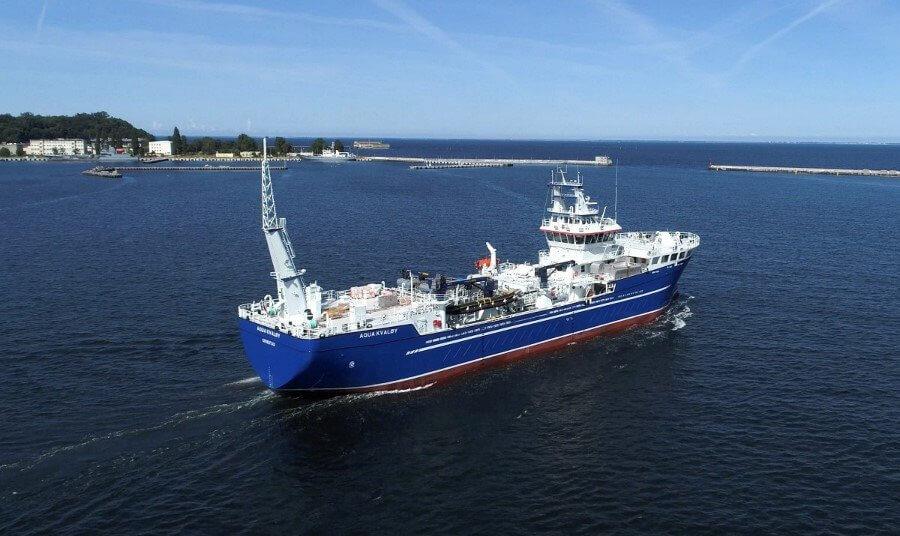 Drugi life fish carrier opuścił stocznie CRIST [foto, wideo].