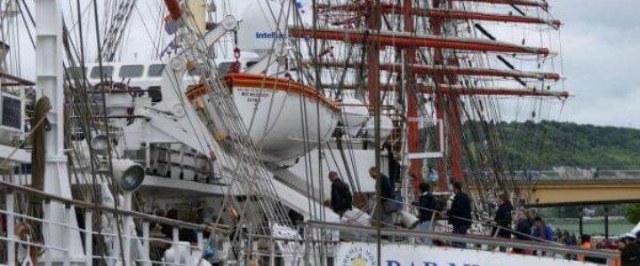 Dar Młodzieży dotarł na zlot L'Armada 2019.