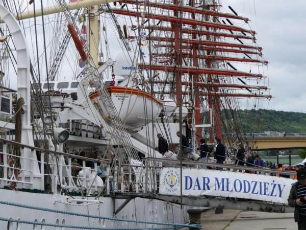 Dar Młodzieży dotarł na zlot L'Armada 2019