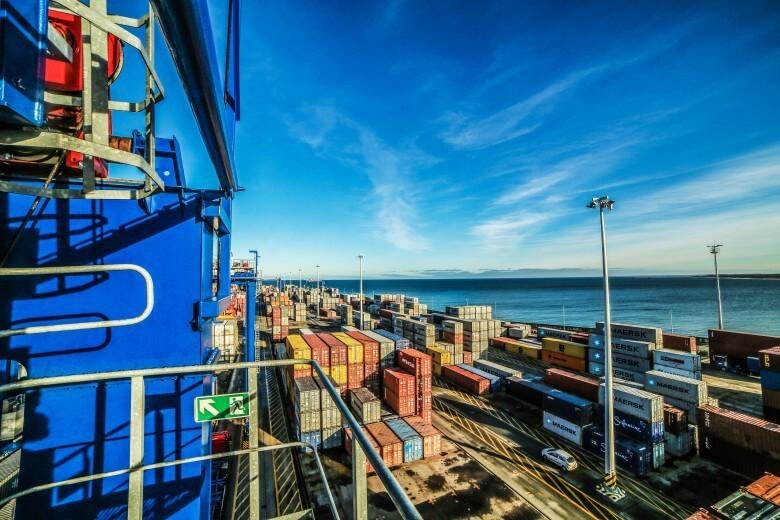 Świnoujście. Planowany terminal kontenerowy w Świnoujściu przeładuje rocznie 1,5 mln TEU