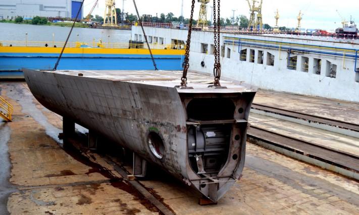 W Stoczni Szczecińskiej położono stępkę pod budowę luksusowego jachtu (foto)