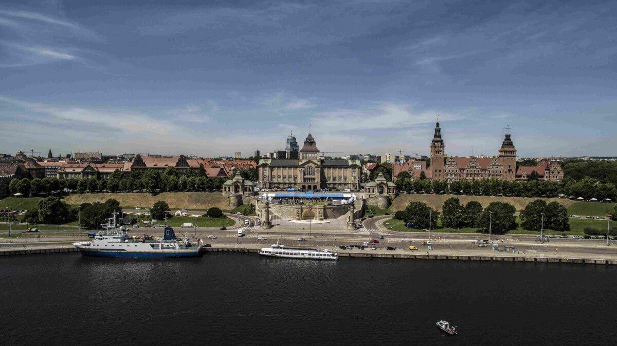 Szczecin. Wielkie żaglowce nie zacumują przy Wałach Chrobrego podczas tegorocznych Dni Morza