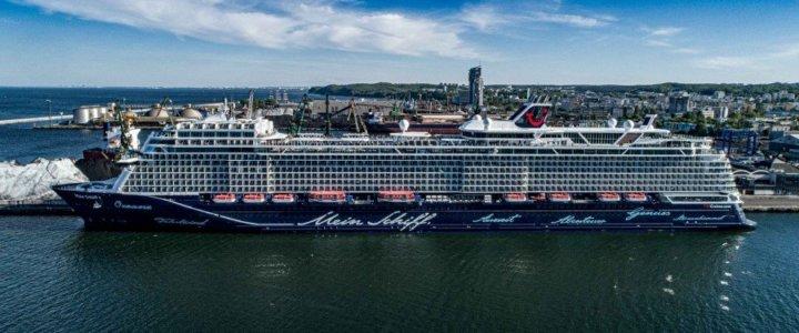 Mein Schiff 1 w Porcie Gdynia.