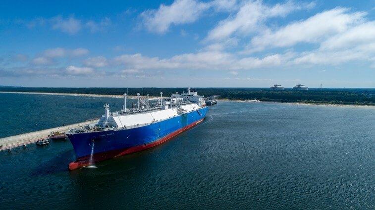 Chcemy transportować LNG do Świnoujścia