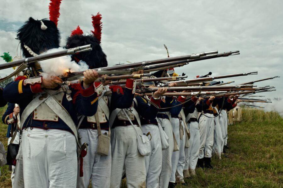 Napoleon w Świnoujściu! 200 żołnierzy piechoty, dodatkowo setka artylerzystów i jazda