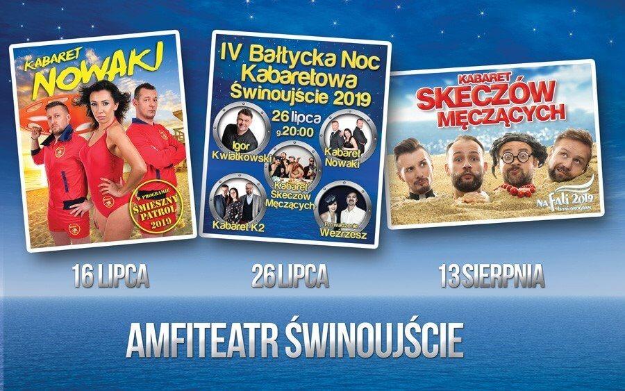 Świnoujście. IV Bałtycka Noc Kabaretowa.