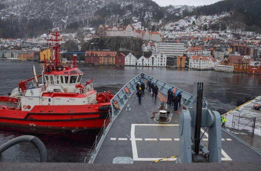 PKW Pułaski w Bergen